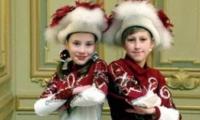 Tanzpaar aus Holzdorf tritt in Staatskanzlei auf